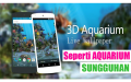Cara Membuat Wallpaper 3d Aquarium