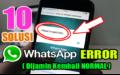 10 Penyebab WhatsApp Pending & Pesan Tidak Terkirim