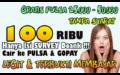 MUDAH BANGET CUMA ISI SURVEY DAPAT 100 RIBU