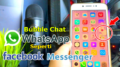 Cara Membuat Bubble Chat Whatsapp Seperti Messenger
